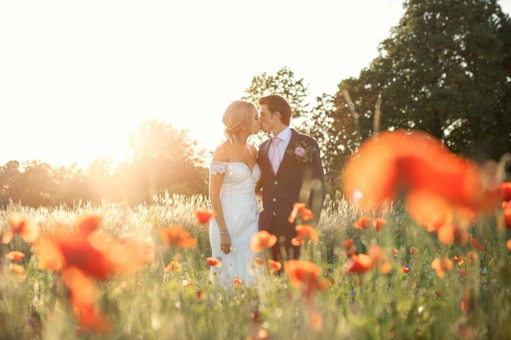 golden hour bröllop lilla bjers