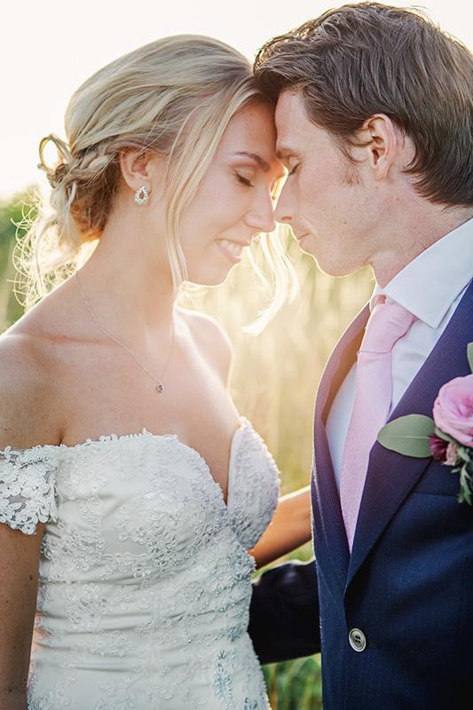 golden hour bröllopsfotografering lilla bjers gotland